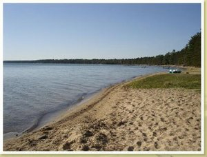 Roscommon, Michigan. Hideout at Higgins Lake - Roscommon, Michigan, United States