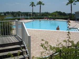 Haines City, Florida. Luxury pool home on golf course near Disney - Haines City, Florida, United States