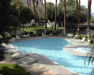 Palm Springs, California. Fully Furnished 1-bedroom, 1-bathroom Palm Springs Condo with pool and tennis courts. - Palm Springs, California, United States