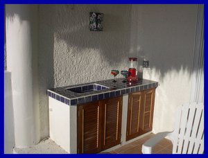Playa del Carmen, Quintana Roo, Mexico.  Oceanfront Vacation Condo Rental Casita Azul S-6 - Playa del Carmen, Non US or Canada, Mexico
