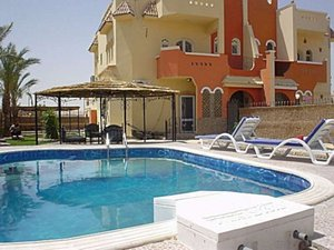 Hurghada, Egypt. Villa-apartment with private swimming pool - Hurghada, Non US or Canada, Egypt