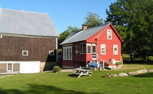 Denmark, Maine. Red Shed Cottage - Denmark, Maine, United States