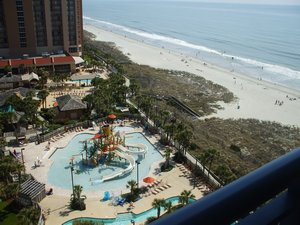 Myrtle Beach, South Carolina. Kingston Plantation Resort - Myrtle Beach, South Carolina, United States