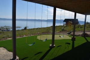 Dreamland Lodge at Bear Lake in Garden City, Utah. - Garden City, Utah, United States