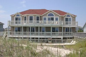 Another Sea Esta, a spectacular 9-bedroom, 11-bathroom oceanfront home in the Outer Banks - OBX - Corolla, North Carolina. - Corolla, North Carolina, United States