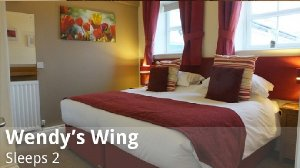 Wendy's Wing at Greetham Retreat is a 1-bedroom, 1-bathroom, self-catering holiday cottage for couples in Lincolnshire, England. - Horncastle, Lincolnshire, Non US or Canada, England