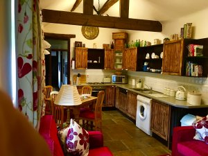 The Stables, one of two self-catering cottages at Holestone Moor Farms, has 2 bedrooms, 1 bathroom and sleeps 4 plus a baby. - Derbyshire, Non US or Canada, England