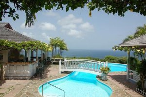 Albatross Nest offers seclusion and privacy, in Cap Estate, Saint Lucia, Caribbean. Has 4-BR, 4.5-BA, and a private pool. - Cap Estate, Non US or Canada, Saint Lucia